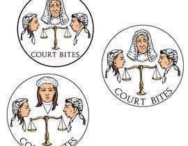 #47 untuk Design a Logo - Court Bites - Legal Education oleh alexmcvey