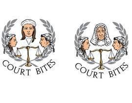 #48 untuk Design a Logo - Court Bites - Legal Education oleh alexmcvey
