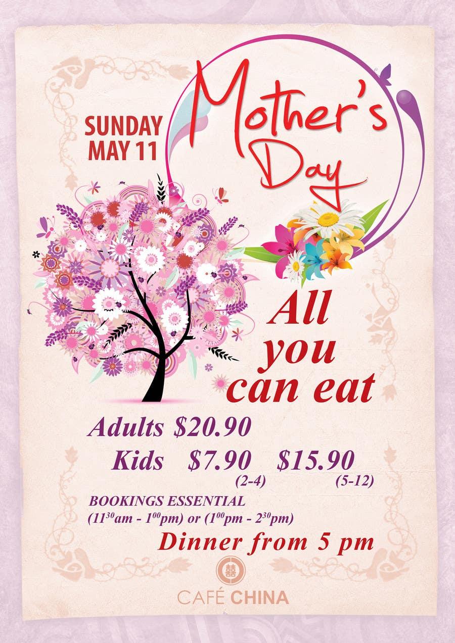 Penyertaan Peraduan #11 untuk Design a Banner for Mothers Day