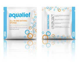 freerix tarafından Create  Packaging Design for aqualief all in one bathing sponge için no 76