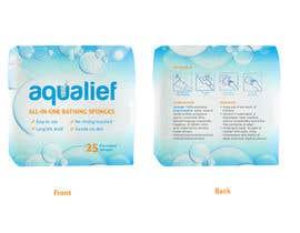 lareveuse tarafından Create  Packaging Design for aqualief all in one bathing sponge için no 85
