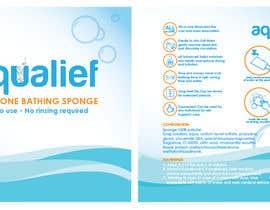 Pahiramako2 tarafından Create  Packaging Design for aqualief all in one bathing sponge için no 71