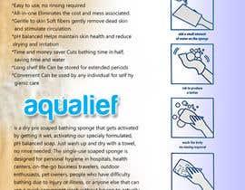 johnathanlewis84 tarafından Create  Packaging Design for aqualief all in one bathing sponge için no 38