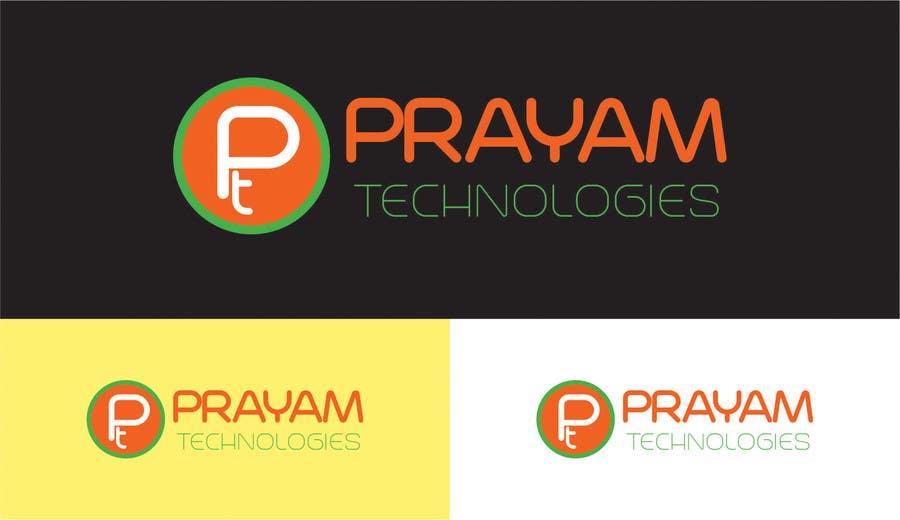 Bài tham dự cuộc thi #58 cho Design a Logo for Prayam Technologies