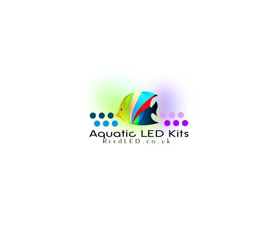 Contest Entry #16 for Design a Logo aquarium led ecommerce