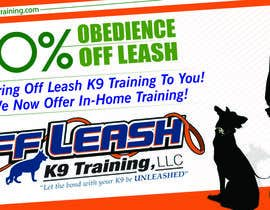 #15 for Design an Advertisement for Dog Training Business af eshad222