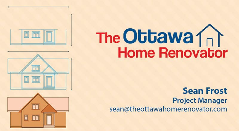 #56 for Design some Business Cards for The Ottawa Home Renovator by samurai77x
