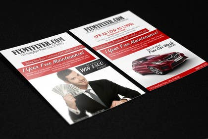 #19 for Design a Flyer for Local Car Dealership by umerr2000