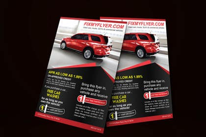 #36 for Design a Flyer for Local Car Dealership by tahira11