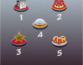 nº 33 pour Design 5 Icons for my game par eblive