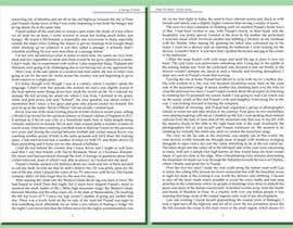 scubacat154 tarafından Book Typesetting için no 8