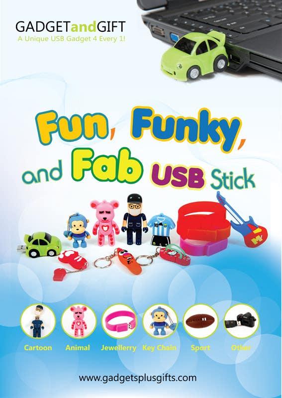 Inscrição nº 28 do Concurso para Simple and fun poster required for unique gadgets