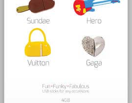 #13 untuk Simple and fun poster required for unique gadgets oleh designbykl