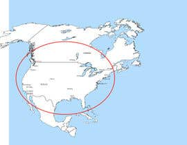 nº 1 pour Cartoonish maps (2) of the (northern) East and West Coasts of the USA par hugolazo
