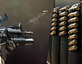 #33 untuk I Need a Main Image Designed for the Homepage of my Firearms Retail Website oleh ravelloasociados