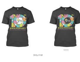 #206 for 10 year Anniversary Tshirt by asetiawan86