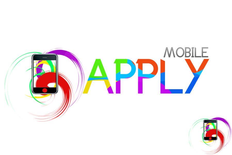 Kilpailutyö #203 kilpailussa Logo Design for Apply Mobile