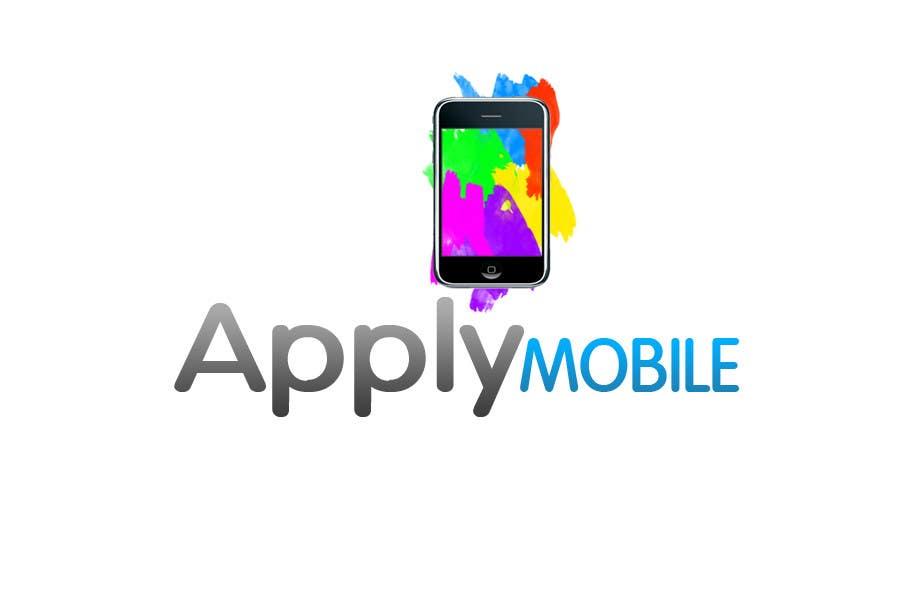Kilpailutyö #206 kilpailussa Logo Design for Apply Mobile