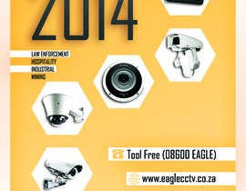 #14 para EagleCCTV - 2014 CCTV Catalog Cover por mdesignosaka