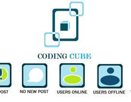 #14 for Design a Logo & Icons for a Coding Forum af Debamitragiri123