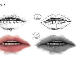 #6 para Mouth drawing por nguyenhoaivan1