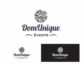 nº 8 pour Develop a Corporate Identity for DomUnique Events par descomgroup