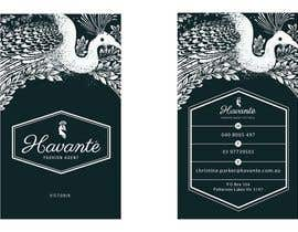 #38 cho Design some Business Cards for Havante' bởi LouwrensV