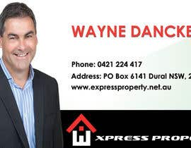 #37 untuk Design some Business Cards for Express Property real estate oleh kukadiyabipin