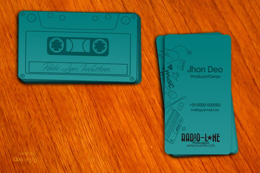 #2 for Design Business Cards for Radio Lane Productions by amitpadal