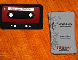 nº 13 pour Design Business Cards for Radio Lane Productions par amitpadal