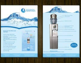 #17 for Design a Product flyer for a Water Cooler by tahira11