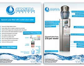 #11 para Design a Product flyer for a Water Cooler por kingryanrobles22