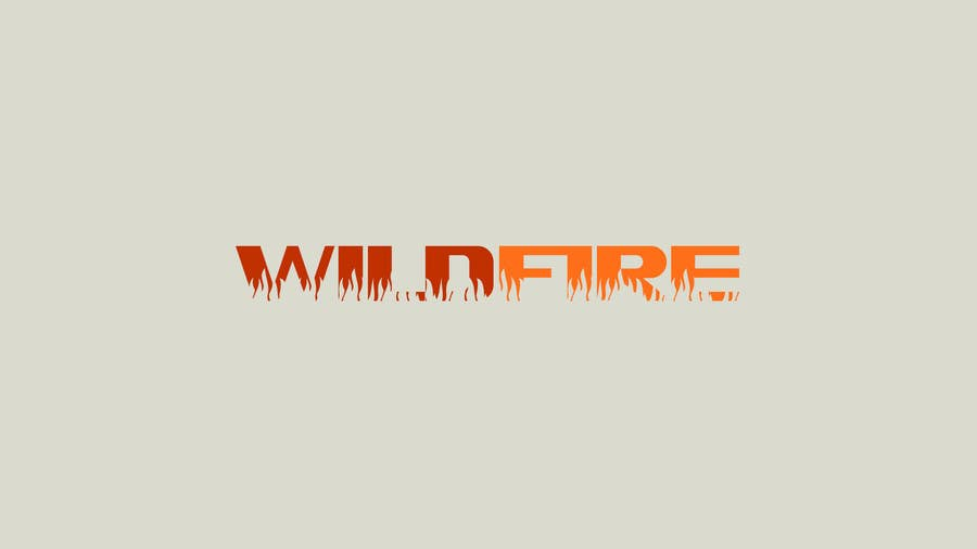 "Proposition n°4 du concours Design a text Logo for ""Wildfire"""