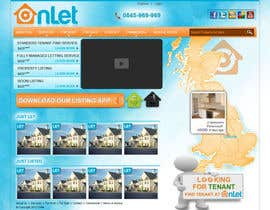 #48 para Website Design for Onlet por kosmografic