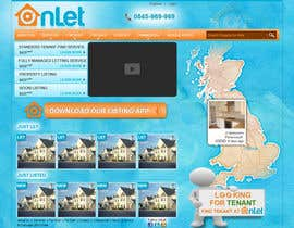 #36 para Website Design for Onlet por kosmografic