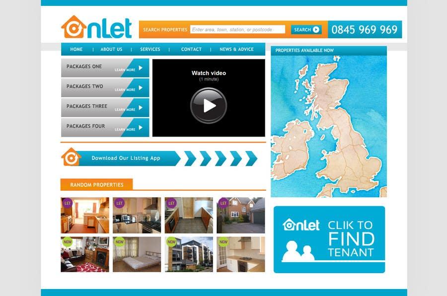 Inscrição nº                                         8                                      do Concurso para                                         Website Design for Onlet