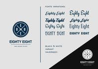 Contest Entry #92 for Design a Logo for EightyEight - Web design studio