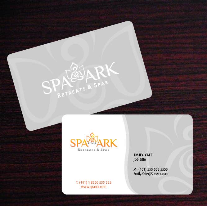 #45 for Design some Business Cards for Spa and Retreat Travel Agency by amaydualk