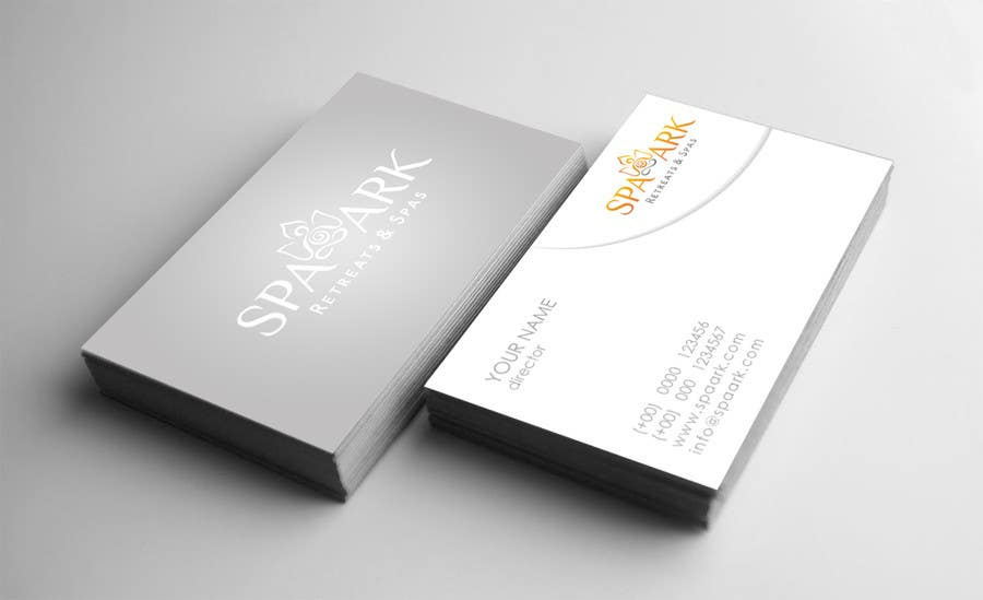 #10 for Design some Business Cards for Spa and Retreat Travel Agency by GiuliaTorra