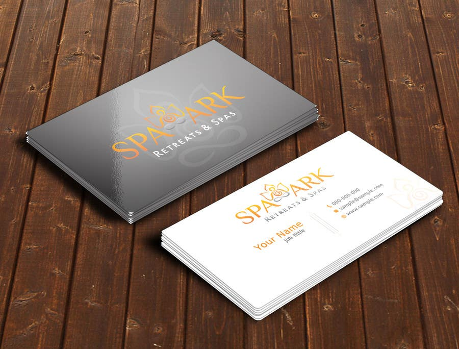 #54 for Design some Business Cards for Spa and Retreat Travel Agency by nihon5