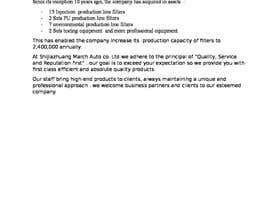 dianar67 tarafından write a profile for my company için no 14