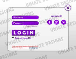 #5 untuk Design an App Mockup for Visitor Registration App oleh UniateDesigns