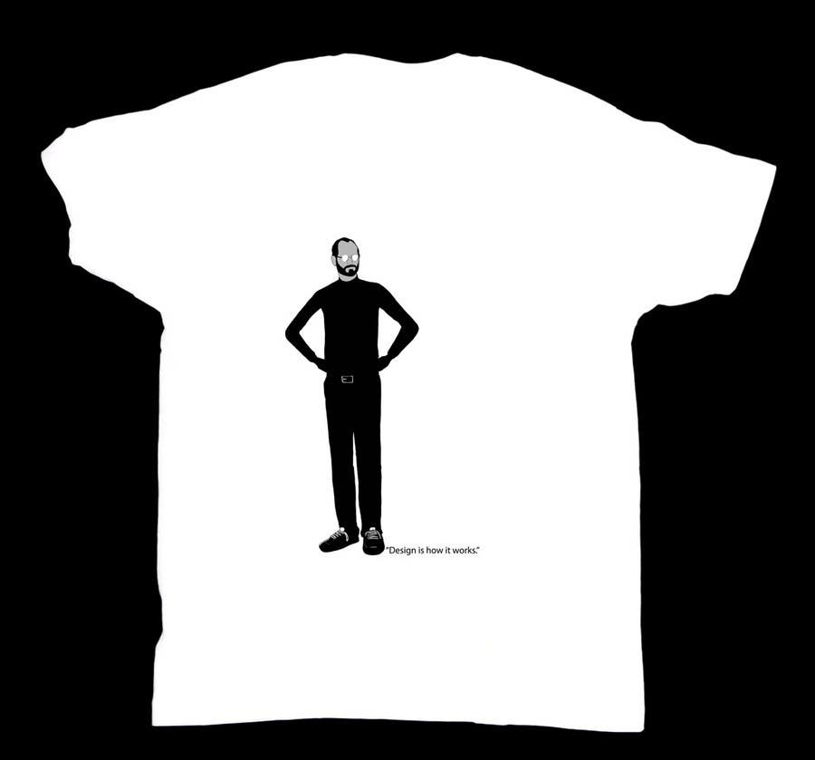 #157 for T-Steve, a tribute shirt for Steve Jobs by antoniopiedade