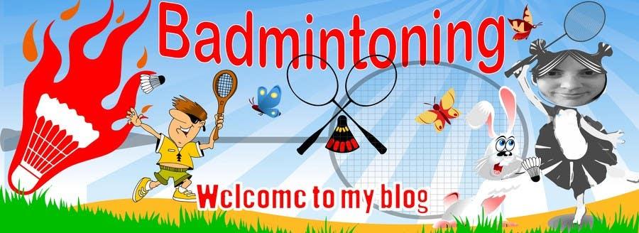 Bài tham dự cuộc thi #                                        3                                      cho                                         Design a Banner for a Badminton Blog