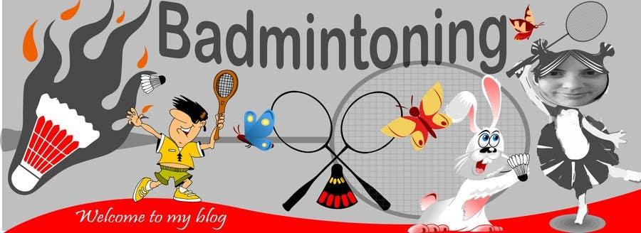 Bài tham dự cuộc thi #                                        4                                      cho                                         Design a Banner for a Badminton Blog