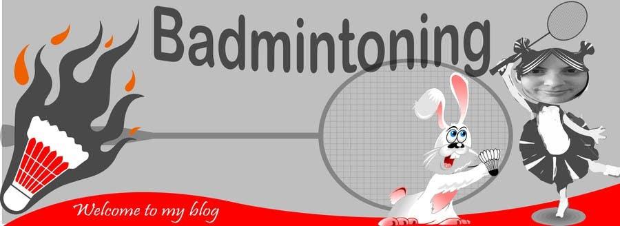 Bài tham dự cuộc thi #                                        5                                      cho                                         Design a Banner for a Badminton Blog