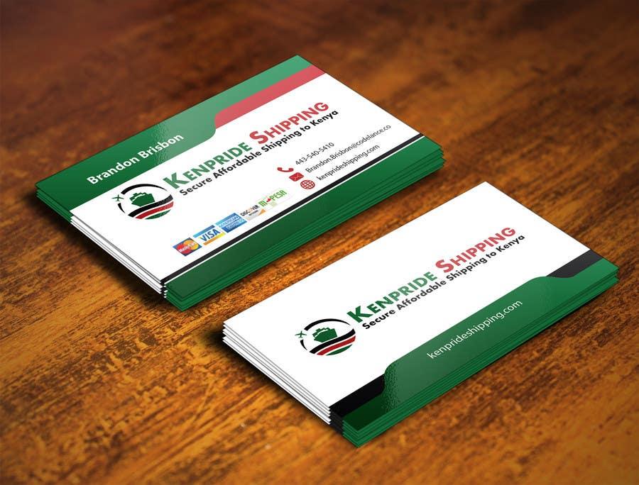 Penyertaan Peraduan #54 untuk Design some Business Cards for shipping company