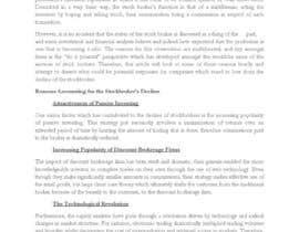 "djoevionfuller tarafından Write a blog about ""The Decline of the Stockbroker"" için no 3"