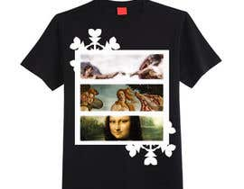 #3 for Set with 4 (four) T-Shirts design inspired by the Renaissance art works. by rocioquiles