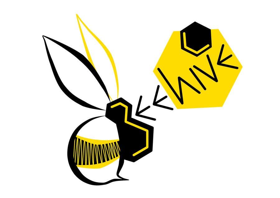 Bài tham dự cuộc thi #27 cho Design a Logo for a temporary student work agency 'Beehive'.